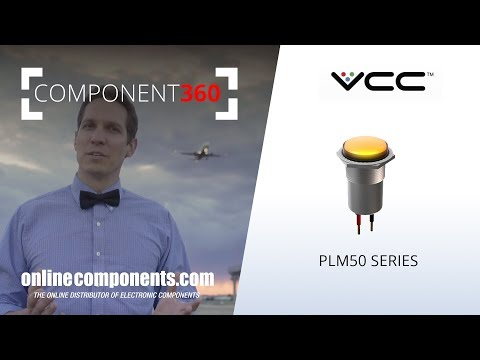 Component360: VCC Robust LED Panel Mount Indicators for Harsh Environments