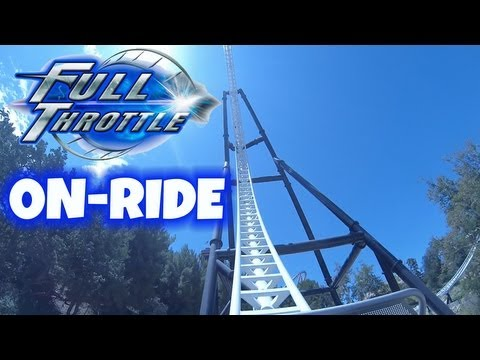 six flags magic mountain - http://clicktotweet.com/UHb8c Take a ride on Full Throttle a Steel Sit Down LSM roller coaster by Premiere Rides Inc as you get launched to speeds of 70 MPH ...