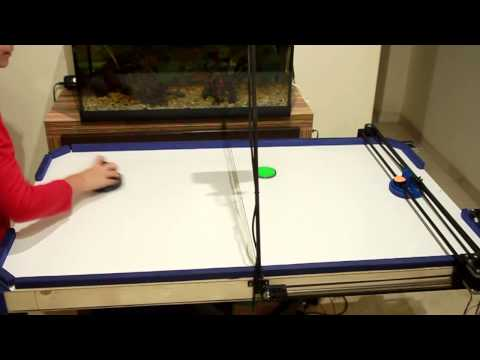 Air Hockey Robot Project a 3D printer hack