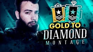 RAINBOW SIX SIEGE: GOLD TO DIAMOND MONTAGE - Season 06 by GaBBoDSQ [PS4 Pro]