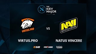 VP vs Na'Vi, Game 2, The Kiev Major CIS Main Qualifiers Play-off