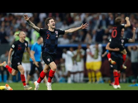 Croatia beats England to book spot in World Cup final