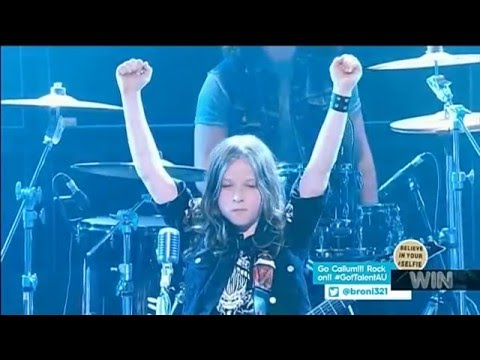 10-Year-Old Crushes Metallica Cover On