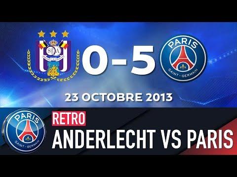 RETRO - RSC ANDERLECHT vs PARIS SAINT-GERMAIN 1992 & 2013