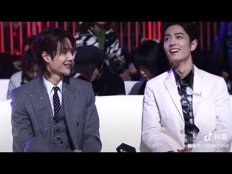 20191228 肖战 王一博 Wang Yibo & Xiao Zhan Reaction To WUJI Song