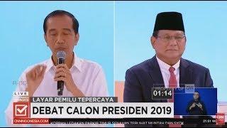 Video Full Debat Kedua Capres 2019, Joko Widodo dan Prabowo Subianto MP3, 3GP, MP4, WEBM, AVI, FLV Juni 2019