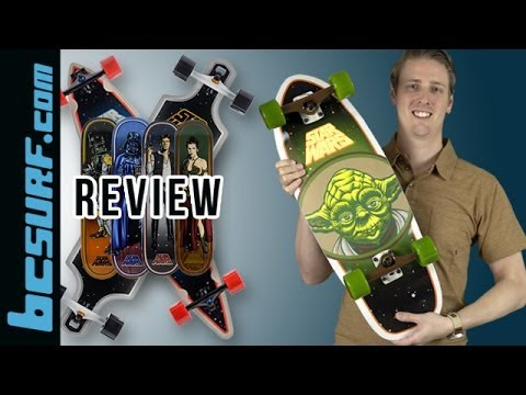 Santa Cruz Skateboards x Star Wars Collection Review - Skateboards & Longboards - BCSurf.com