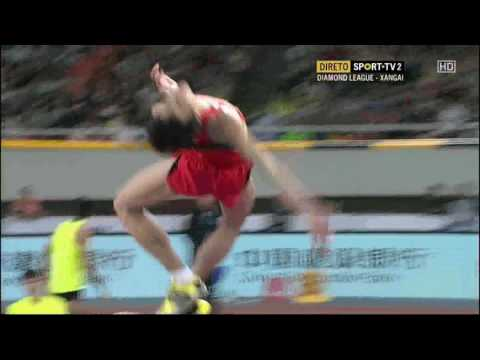 Yu Wang 2.28 Shanghai Diamond League 14.05.2016 ( men high jump )
