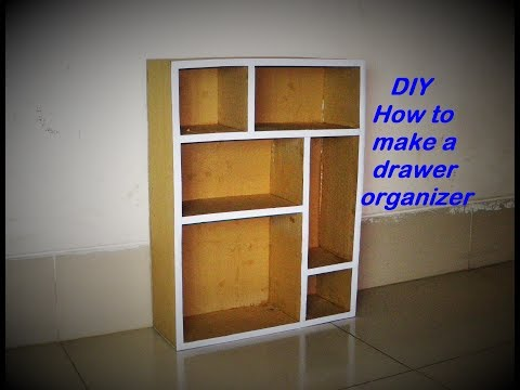 Video DIY How to make a drawer organizer : Made with cardboard and paper HD. download in MP3, 3GP, MP4, WEBM, AVI, FLV January 2017