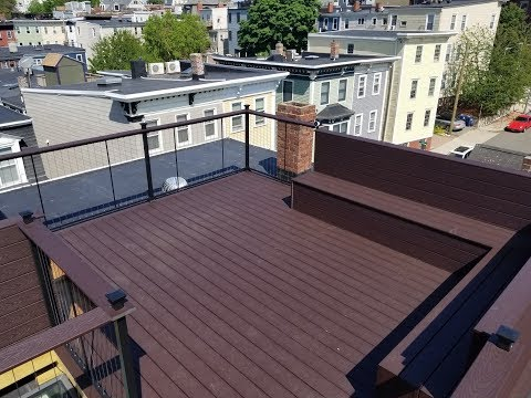 Charlestown Boston - GoPro Timelapse of roof deck construction
