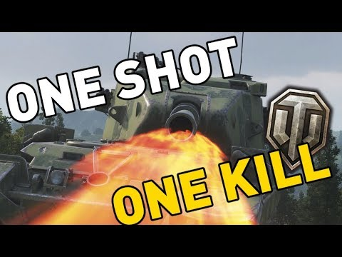 World of Tanks || ONE SHOT, ONE KILL