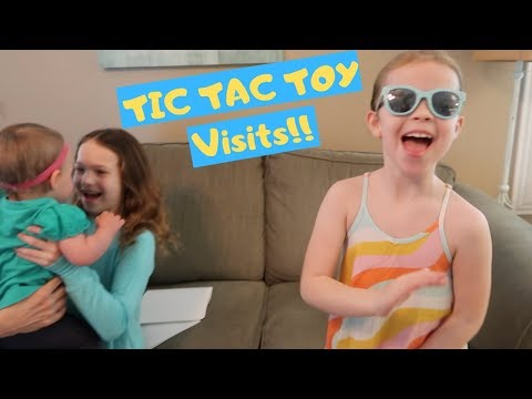 Pre Birthday Party Fun With  Tic Tac Toy!