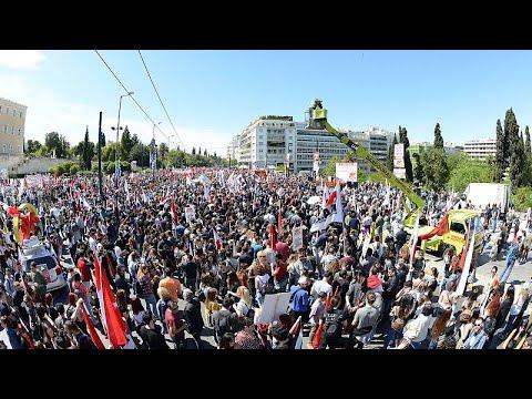 Συγκεντρώσεις για την Εργατική Πρωτομαγιά στην Αθήνα