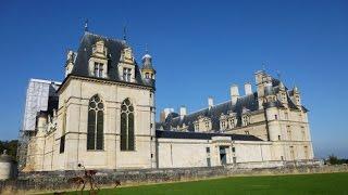 Ecouen France  city photos gallery : France - Château d'Ecouen en Automne - Extérieur