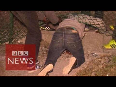 'The Jungle' migrant camp : Calais migrants crisis