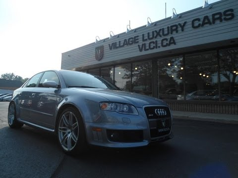 2008 Audi RS4 in review – Village Luxury Cars Toronto