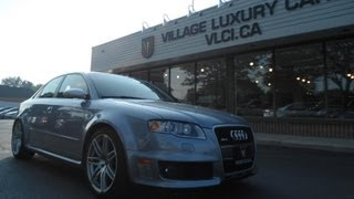 2008 Audi RS4 In Review - Village Luxury Cars Toronto