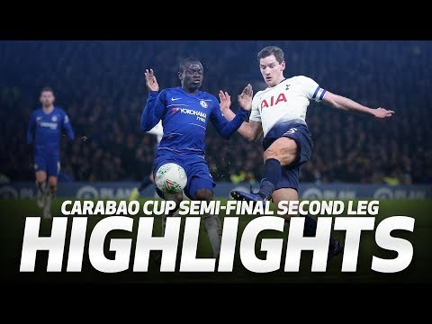 HIGHLIGHTS | Chelsea 2-1 Spurs (2-2 On Agg, 4-2 On Pens) | Carabao Cup Semi-final Second Leg