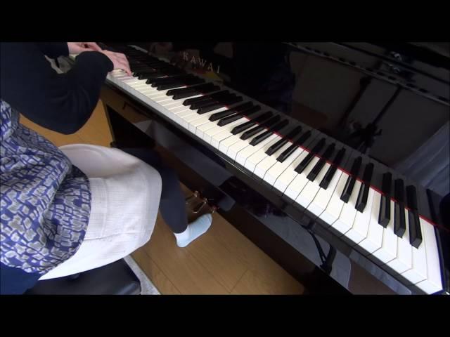 (練習2カ月目)難易度超高い!ショパンの英雄ポロネーズをピアノで弾いてみた♪ Chopin Polonaise No.6 Op.53