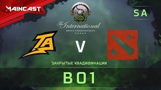 Thunder Predator vs Torus Gaming, The International 2018, Закрытые квалификации | Южная Америка