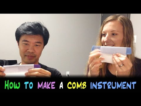 How to Make a Comb Instrument