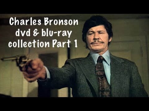 My Charles Bronson Dvd & Blu Ray Movie Collection, Part 1