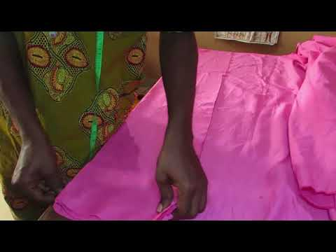 How To Sew African Native Men's Wear (buba And Sokoto) Part 1