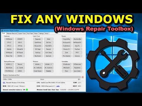 Fix any Windows with Windows Repair ToolBox in 2018