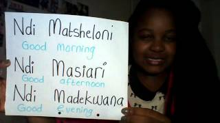 by Tondani Nevhutalu This is just to start you off. Learn one of South Africa's official languages. Tshivenda. Venda. ****Just learnt that Tondani does not mean ...