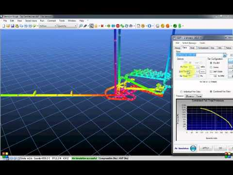 Ventsim™ - How To Build a Model From a DXF File
