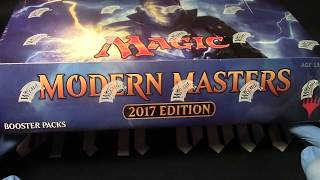 MTG Modern Masters 2017 whole box opening!  Lets tear it up!Nerdy Auctions channel https://www.youtube.com/channel/UC-82gAH96ihCB-jvTONjTQgNew gaming channelhttps://www.youtube.com/channel/UClbZtAMqTk_hPLJmGRx1MTgIf you would like the playmat here is the link!http://www.inkedgaming.com/products/openboosters-playmat***************************************Need Boosters like you see on my channel?I don't sell packs but Vintage Magic does!Tell them Openboosters sent you!http://www.vintagemagic.com/Here are Vintage Magic channels and linkshttp://www.facebook.com/vintagemtghttp://www.twitter.com/vintagemtghttp://www.instagram.com/vintagemtghttp://www.youtube.com/gradedmagiccardshttp://www.pinterest.com/vintagemtg