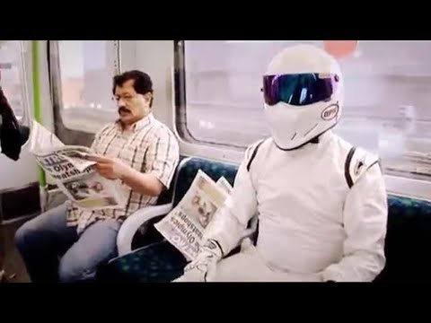 Stig Racing - Highlights - The Stig, Hammond,May and Clarkson Cross-London Race - Top Gear.