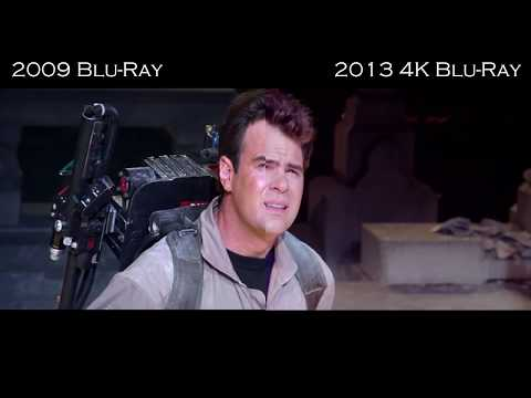 bluray - A quick fan made split screen comparison of the 2009 Blu-Ray versus the new 2013 Mastered in 4K Blu-Ray. Disclaimer All footage is property of Columbia Pictu...