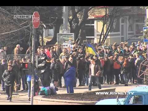 Тисячі Рівнян провели в останню путь загиблого в АТО викладача НУВГП [ВІДЕО]