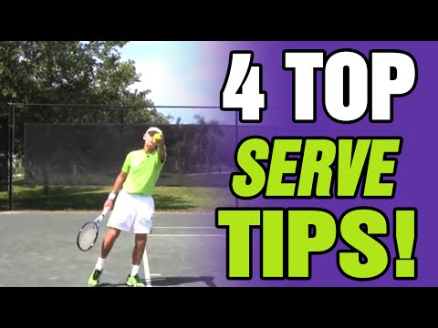 Tennis Serve – Tips For Effective Serving with Coach Avery