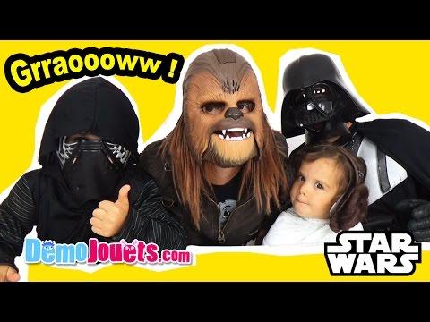 Masque Chewbacca Electronique & Déguisements Star Wars  - Démo Jouets