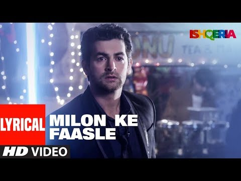 Milon Ke Faasle Lyrical Video | Ishqeria | Richa C