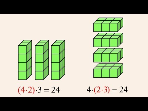7 - Associative and Distributive Properties of Multiplication