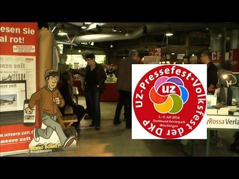 Eindrücke vom UZ-Pressefest 2016 in Dortmund