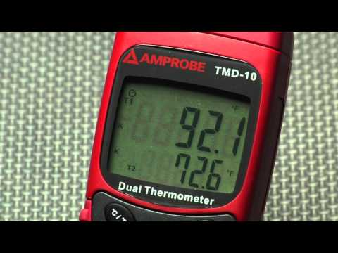 Amprobe's line of Precision Thermometers Series