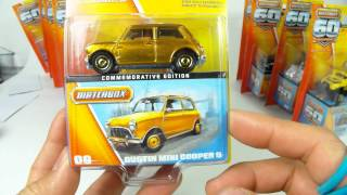 VERY HARD TO FIND...Matchbox 60th Anniversary Commemorative Edition...i Got 9 Of 24 Cars!!!