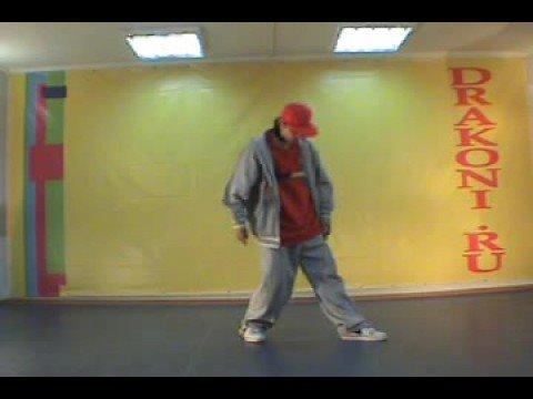 Обучающее видео hip-hop (хип-хоп): robocop