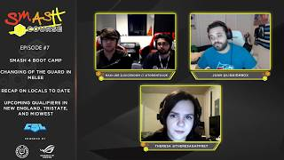 Hungrybox on Smash Course (Ep. 7), a weekly Smash podcast!   Debate on Smash 4 boot camp, changing of the guard in Melee, and collegiate Smash qualifiers.