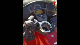 5. My 2008 Honda Goldwing Audio Comfort Navi metallic red