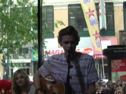 Cody Simpson singing Got Me Good at Musique Plus in Montreal