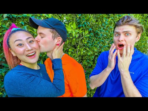 I KISSED HIM IN FRONT OF MY EX!!