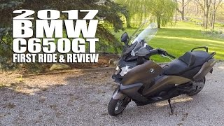 9. 2017 BMW C650GT First Ride & Review