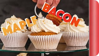 Maple Bacon Cupcakes   Big Night In by SORTEDfood