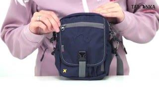 Универсальная дорожная сумочка из водоотталкивающей ткани Tatonka Check In  CLIP