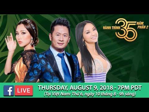 Livestream với Bằng Kiều, Quỳnh Vi, Diễm Sương - August 9, 2018 - Thời lượng: 1 giờ, 11 phút.